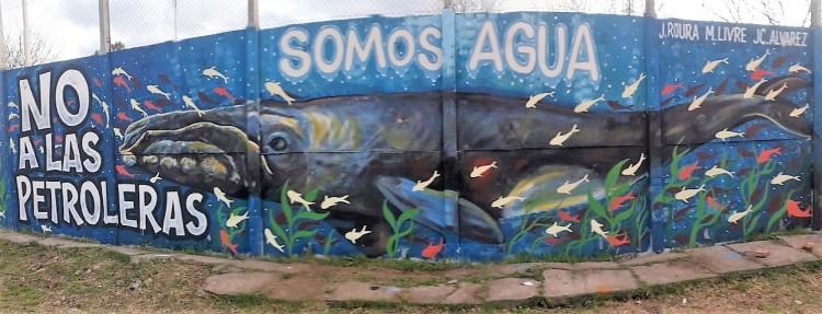 Foto y Mural Julian Roura- Argentina